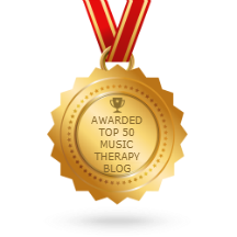 top music therapy blog badge